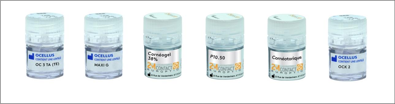 Guide Lentille 2020 pour Contactologie, Ocellus, 2Mcontact, Europtic